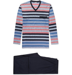 Zimmerli - Striped Cotton Pyjama Set