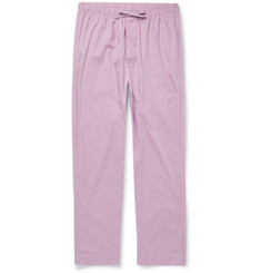 Zimmerli - Checked Cotton-Poplin Pyjama Trousers