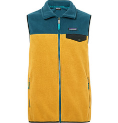 Patagonia Synchilla Snap-T Lightweight Two-Tone Fleece Gilet