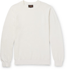 Beams Plus Linen and Cotton-Blend Sweater