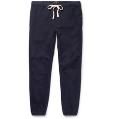 Beams Plus Slim-Fit Tapered Cotton-Blend Twill Trousers