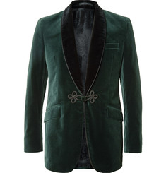 Favourbrook Two-Tone Cotton-Velvet Tuxedo Jacket