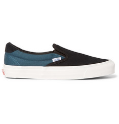 Vans OG 59 LX Suede and Canvas Slip-On Sneakers