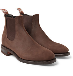 R.M.Williams Comfort Craftsman Nubuck Chelsea Boots