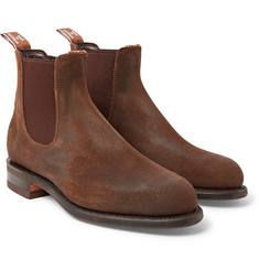 R.M.Williams Comfort Turnout Distressed Nubuck Chelsea Boots