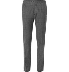 Todd Snyder - Slim-Fit Prince of Wales Checked Wool-Blend Trousers