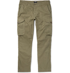 Todd Snyder Infantry Herringbone Cotton Cargo Trousers