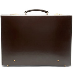 Kingsman + Swaine Adeney Brigg Leather Briefcase