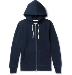 Reigning Champ - Loopback Cotton-Jersey Zip-Up Hoodie
