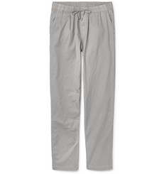 Save Khaki United - Easy Slim-Fit Cotton-Twill Drawstring Trousers