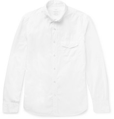 Save Khaki United Slim-Fit Cotton-Poplin Shirt