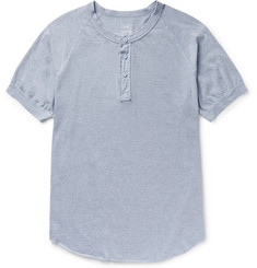 Save Khaki United Cotton-Blend Jersey Henley T-Shirt