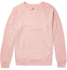 Save Khaki United Mélange Loopback Cotton-Jersey Sweatshirt