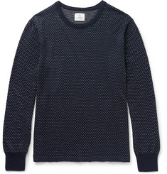 Save Khaki United Slim-Fit Birdseye Cotton and Cashmere-Blend Sweater