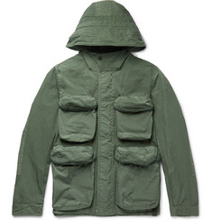 Nemen Slim-Fit Shell Hooded Field Jacket
