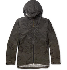 Nemen Slim-Fit Camouflage-Print Ripstop Shell Windbreaker Jacket