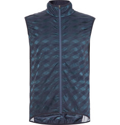 Cafe du Cycliste Jacqueline Windproof Stretch-Jacquard Cycling Gilet