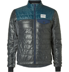 Cafe du Cycliste Albertine Fleece and Quilted Shell Primaloft® Cycling Jacket