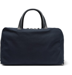 Álvaro - 47 Leather-Trimmed Canvas Holdall