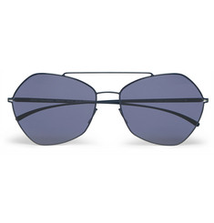 Maison Margiela Aviator-Style Metal Sunglasses