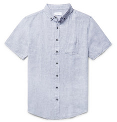 Onia - Jack Button-Down Collar Linen Shirt
