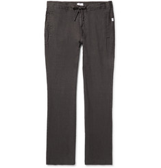Onia - Collin Slim-Fit Linen Drawstring Trousers