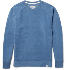 Norse Projects Ketel Brushed Loopback Cotton-Jersey Sweatshirt