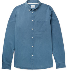 Norse Projects - Anton Button-Down Collar Washed-Denim Shirt