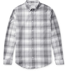 Norse Projects Osvald Button-Down Collar Checked Cotton Shirt