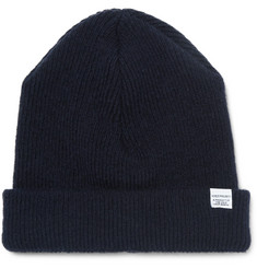 Norse Projects Ribbed Lambswool Beanie