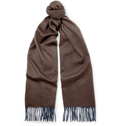 Begg & Co Arran Two-Tone Cashmere Scarf