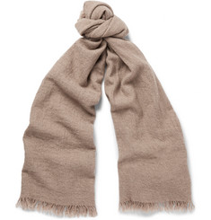 Begg & Co - Kishorn Washed-Cashmere Scarf