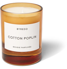 Byredo Cotton Poplin Scented Candle, 240g
