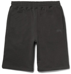 Stüssy - Fleece-Back Cotton-Jersey Shorts