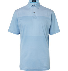 Dunhill Links - Manchester Striped Stretch-Jersey Golf Polo Shirt