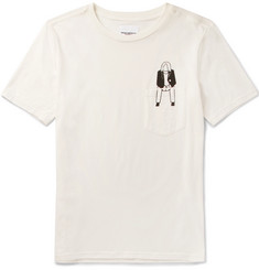 TAKAHIROMIYASHITA TheSoloist. Sit Down1 Printed Cotton-Jersey T-Shirt