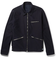Solid Homme Cotton-Twill Jacket