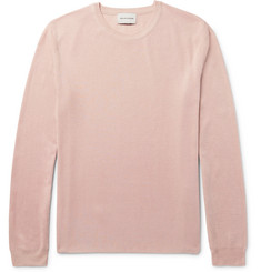 Solid Homme Silk Sweater