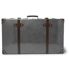 "Globe-Trotter - 33"" Leather-Trimmed Suitcase"