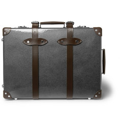 "Globe-Trotter - 21"" Leather-Trimmed Carry-On Suitcase"
