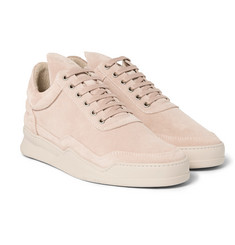 Filling Pieces - Ghost Suede Sneakers