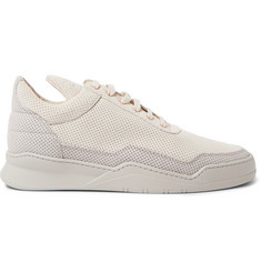 Filling Pieces Ghost Perforated Nubuck Sneakers