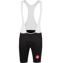 Castelli Endurance Evolution and Mesh Cycling Bib Shorts