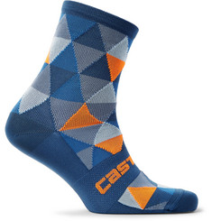 Castelli Fausto Stretch-Knit Cycling Socks