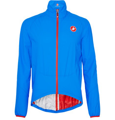 Castelli Riparo Water-Resistant Nylon-Ripstop Cycling Jacket