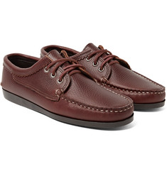 Quoddy - Blucher Full-Grain Leather Boat Shoes