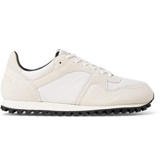 Spalwart Marathon Trail Suede and Mesh Sneakers