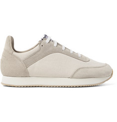 Spalwart Tempo Suede and Canvas Sneakers