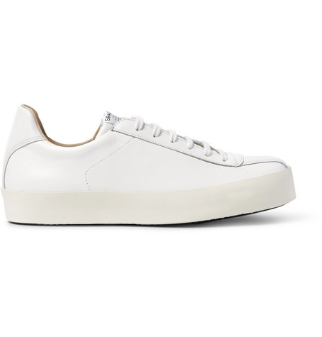 Spalwart Court Leather Sneakers In White