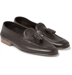 Edward Green - Portland Cross-Grain Leather Tasselled Loafers
